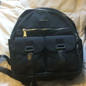 Kipling Black Backpack